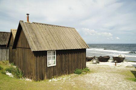 fishing village: Fishing village, Gotland, Sweden Stock Photo