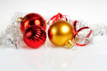 wintery: Wintery Decorations Stock Photo