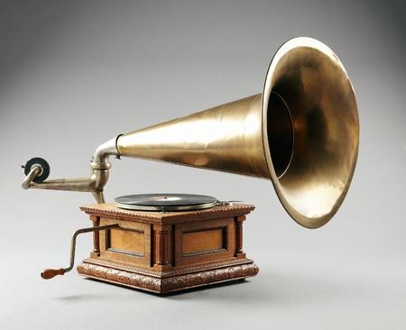 antique phonograph: Antique phonograph