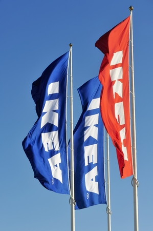 self assembly: IEKA flags
