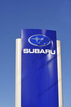 subaru: Subaru sign