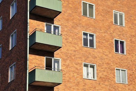 Windows and balconies photo