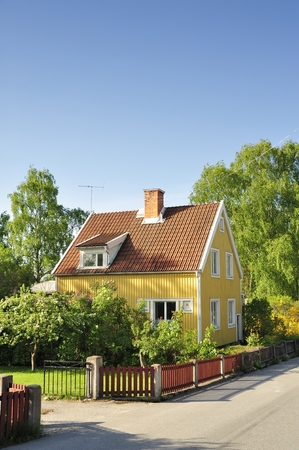 middle class: Swedish middle class home