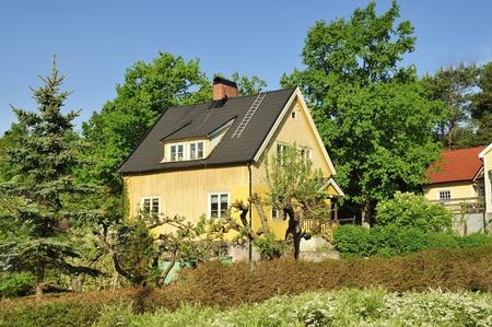 clase media: Sueco hogar de clase media