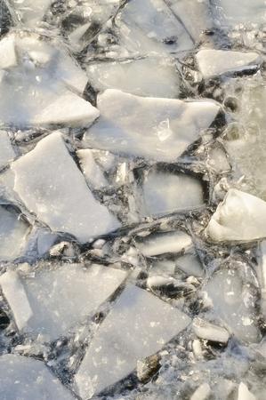 ice sheet: Broken ice