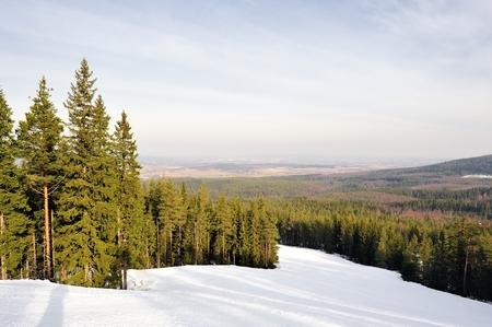skipiste: Ski in Schweden laufen