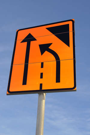 one lane road sign: Swedish temporary road warningsignshop