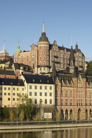 embankment: Stockholm embankment
