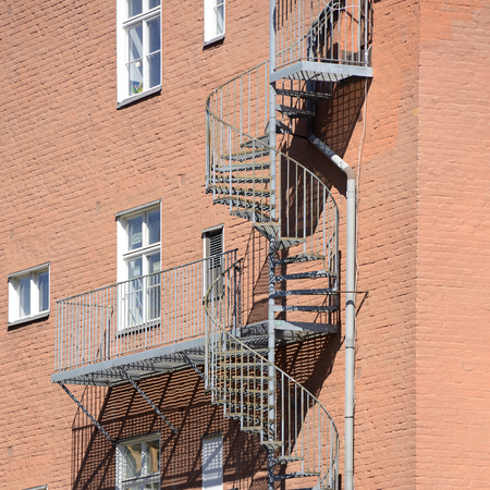 escape: Fire escape in Stockholm
