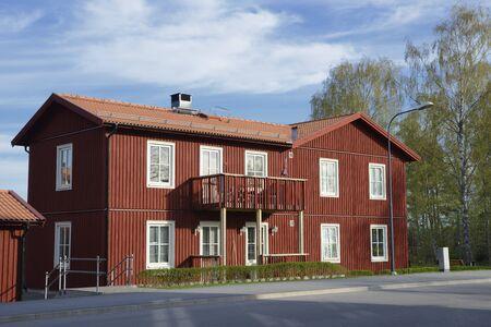 Apartment block in Stockholm - Sweden Editorial