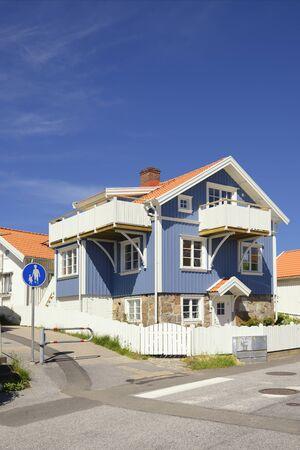 Swedish middle class home, Smogen - Sweden Stockfoto