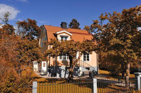Swedish middle class home, Malarhojden - Sweden
