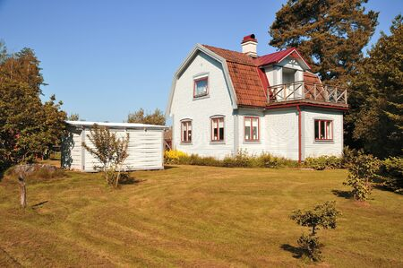 Swedish middle class home, Kolmarden - Sweden