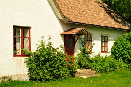 Medieval Hanse town Visby in Sweden Standard-Bild