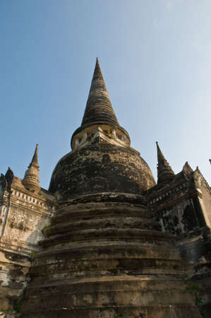 Ayutthaya city is the capital of Ayutthaya province in Thailand. photo