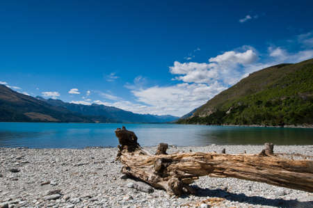 A lake during a sunny day with blue sky Stock Photo - 8902481