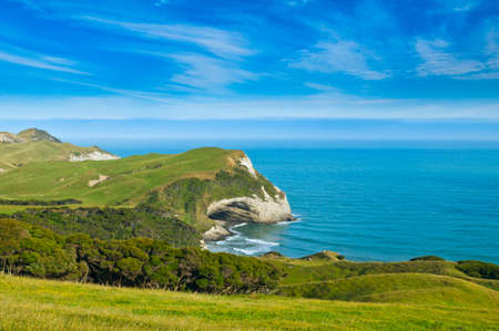 able: Cape Farewell, Able Tasman national park New Zealand