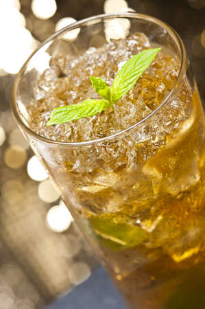 Mint-Julep cocktail a old creation from the USA