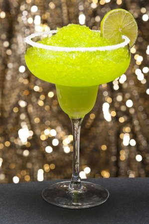 margarita cocktail: Classic margarita cocktail in front of different colored backgrounds