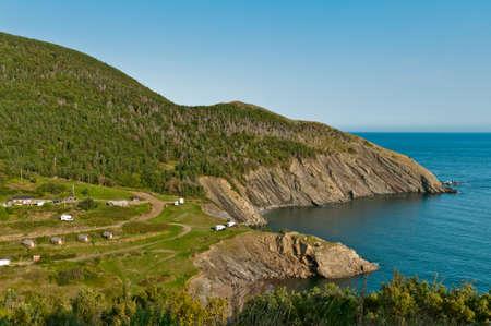 Meat Cove, Cape Breton Island, Nova Scotia, Canada photo