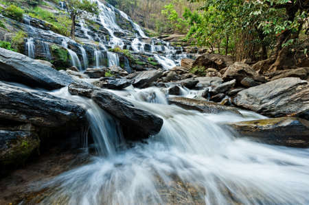 Mae Ya Waterfall Doi Inthanon National Park, Chiang Mai, Thailand photo