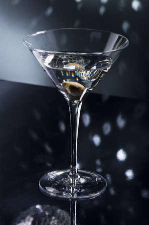 Martinis on the dance floor with nice illumination Stock Photo - 18786760
