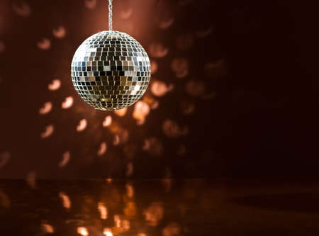 Mirrorball over the dance floor Stock Photo - 19069780