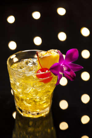 translates: Mai Tai translates from Tahitian to mean  Out of this World   The Mai Tai was developed 1944, in the Oakland