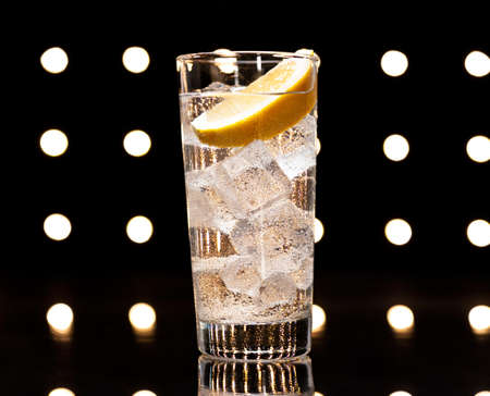 tom collins: Gin Tonic Tom Collins on the dance floor Stock Photo