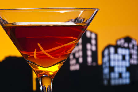 sweet vermouth: A Manhattan is a cocktail made with whiskey, sweet vermouth, and bitters. Whiskeys used are rye (the traditional choice), Canadian whisky, bourbon, blended whiskey and Tennessee whiskey.