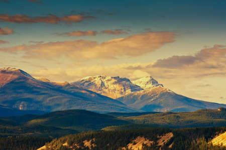 banff: Rocky Mountain, Banff National Park, Alberta Canada Stock Photo