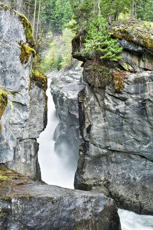 provincial: Nairn Falls Provincial Park, BC, Canada Stock Photo