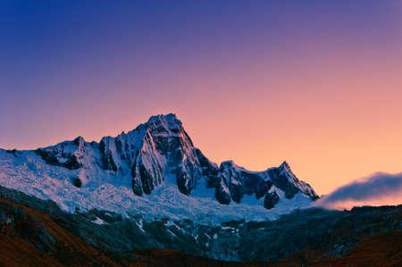 Mountain of the Santa Cruz Trek Peru South America