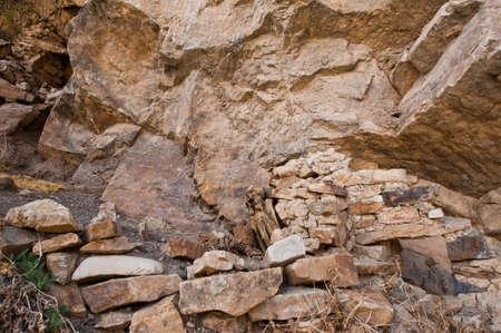 mummification: The Mummy of Paraqra in Peru, South America  Stock Photo