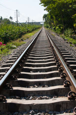 railway transportation: railway and sidewalk to the success