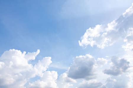 the cluods on the blue sky, sky background Stock Photo - 7782237
