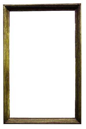 marco madera: Marco de imagen de madera de marco de madera foto aislado antiguo  Foto de archivo