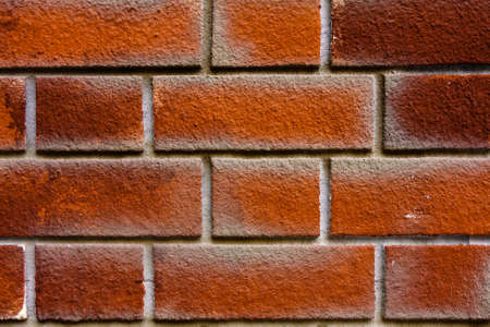 Brick wall background Basic pattern. As background photo