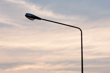 Light poles and public lighting. The illumination and guidance.