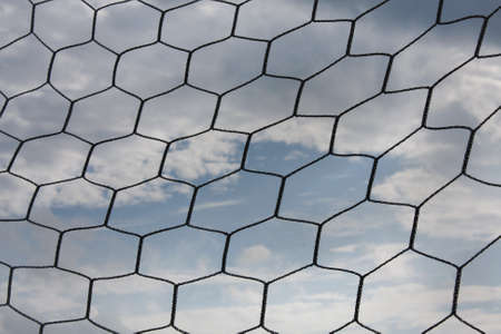 net with the sky overcast. Are feeling glum Stock Photo - 10738244