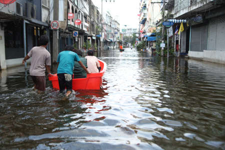 Massive flooding in Bangkok at the end of the year. Travel trouble.