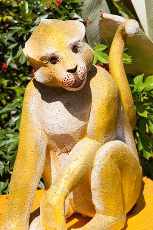 The statue of the monkey zodiac.monkey zodiac.  photo