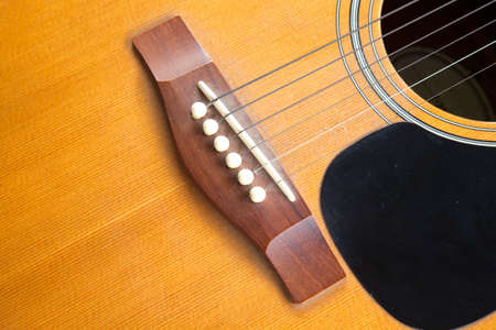 Guitar made out of wood is a guitar classic. photo