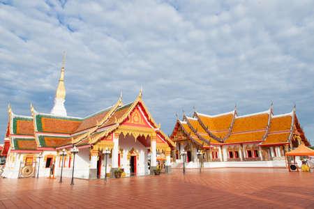 Thailand Temple Thailand art designs are unique and colorful. Stock Photo - 25030581