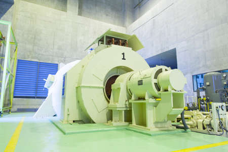 generate: Generation of electricity Larger machines that generate electricity from hydro power from dams.