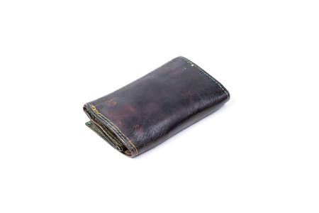 doorkey: Black key bag on white isolated background.object on white isolated studio. Stock Photo