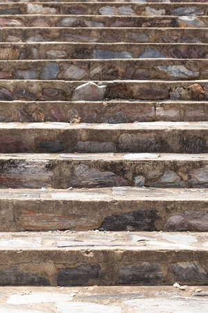 concrete steps: Stone stairs. Stairs in the park, a stone, stacked.