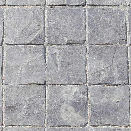 Concrete oval, square, octagonal small. A small square to harmonize the background. Stock Photo