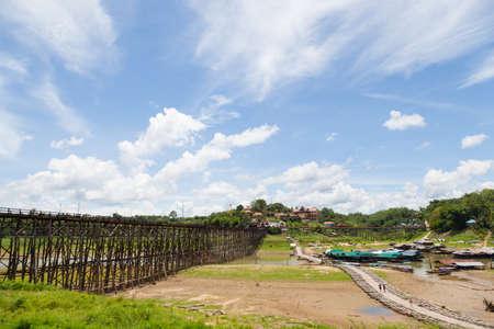 longest: Sagklaburi bridge It is the longest wooden bridge in Thailand.