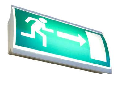 salida de emergencia: firme para encontrar la puerta de salida junto a escapar en peligro